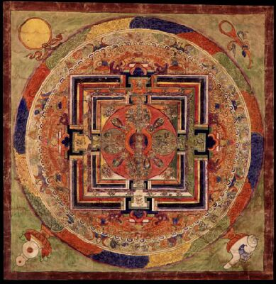 Tibetan book of the dead mandala