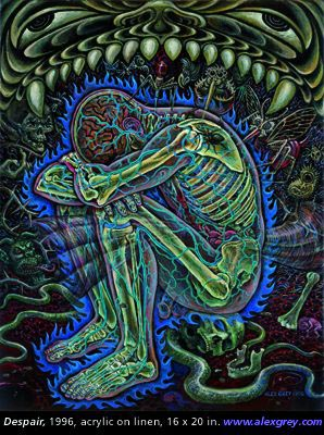 Despair, 1994, Alex Grey