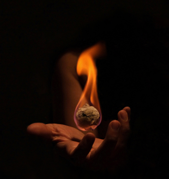 conjuring fire